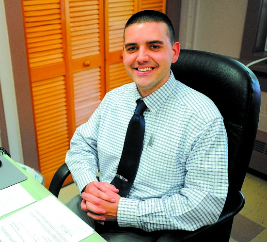 CHAMBER HONORS: Josh Reny has been named Rising Star of 2013 by the Mid-Maine Chamber of Commerce.