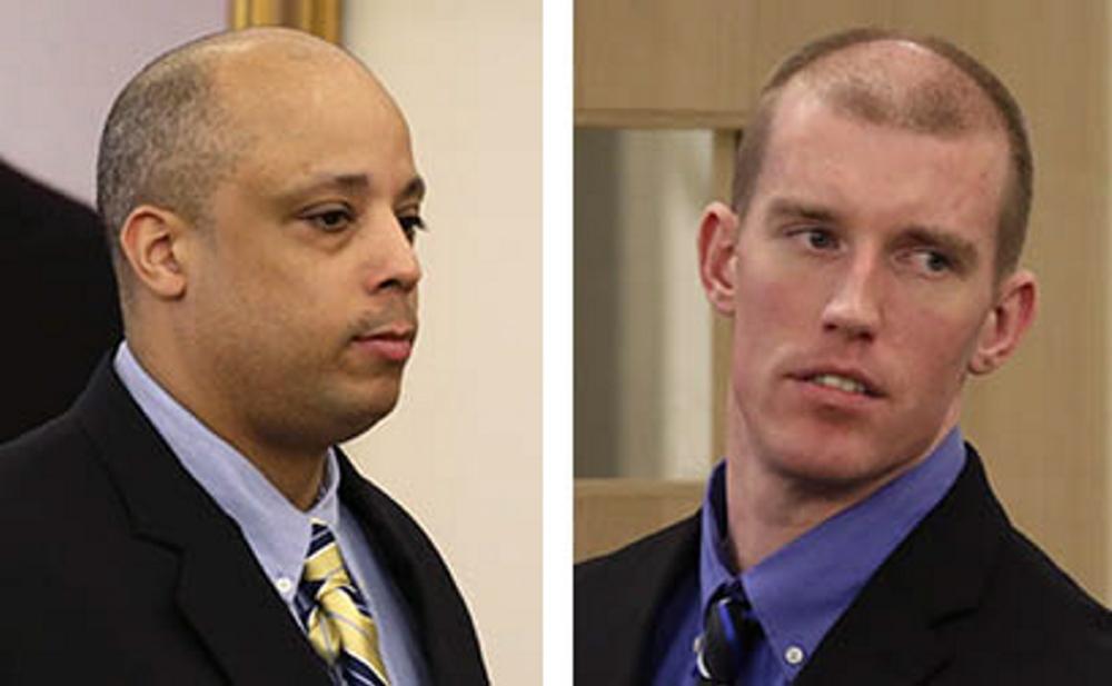 Randall Daluz, left, and Nicholas Sexton