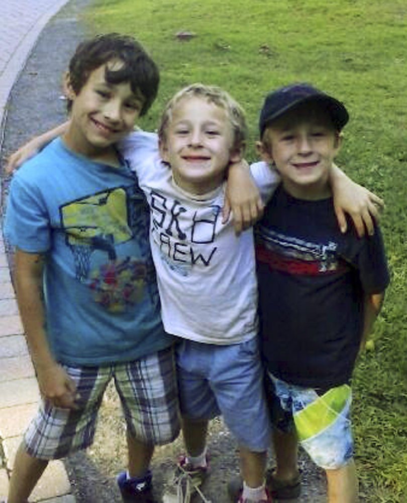 Ryan, Dylan and Brandan Lewis were subjects of a multistate Amber Alert search on Tuesday, but were found safe with their mother at a Bangor motel.