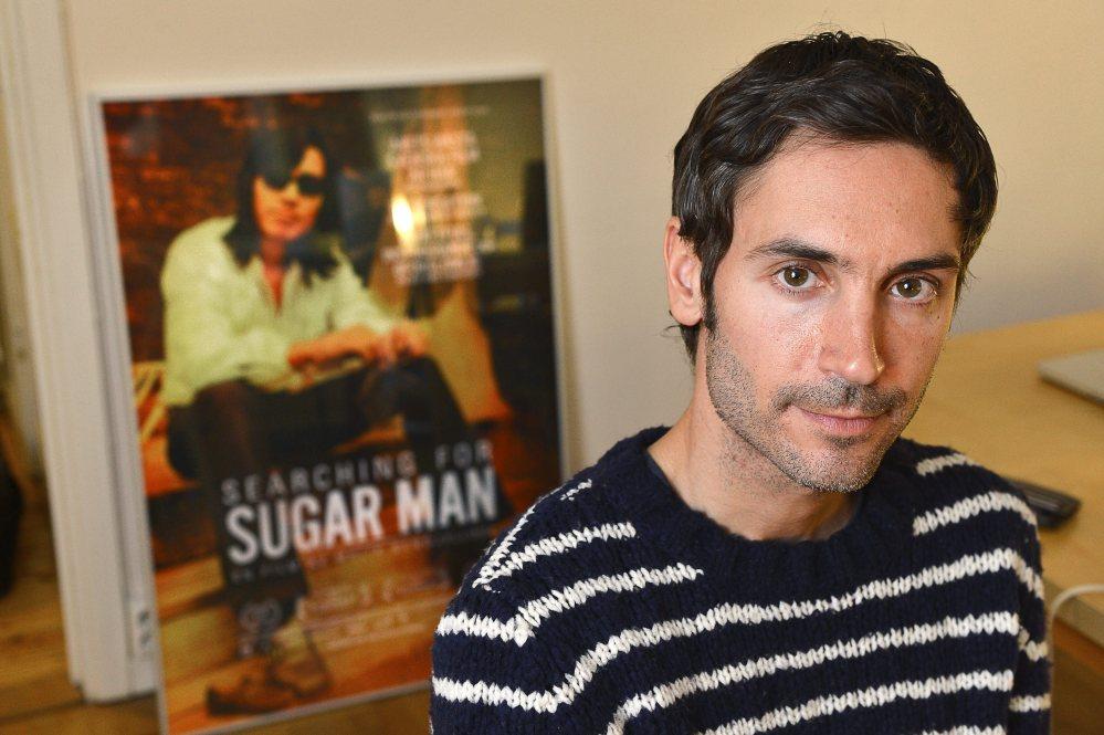 "This 2012 photo shows Oscar-winning filmmaker Malik Bendjelloul, a ""really lovely, charming human being."""
