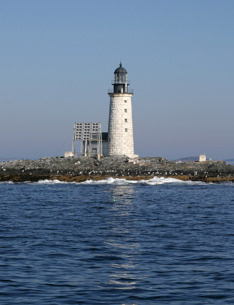 Halfway Rock Light Station off Harpswell dates back to 1871.