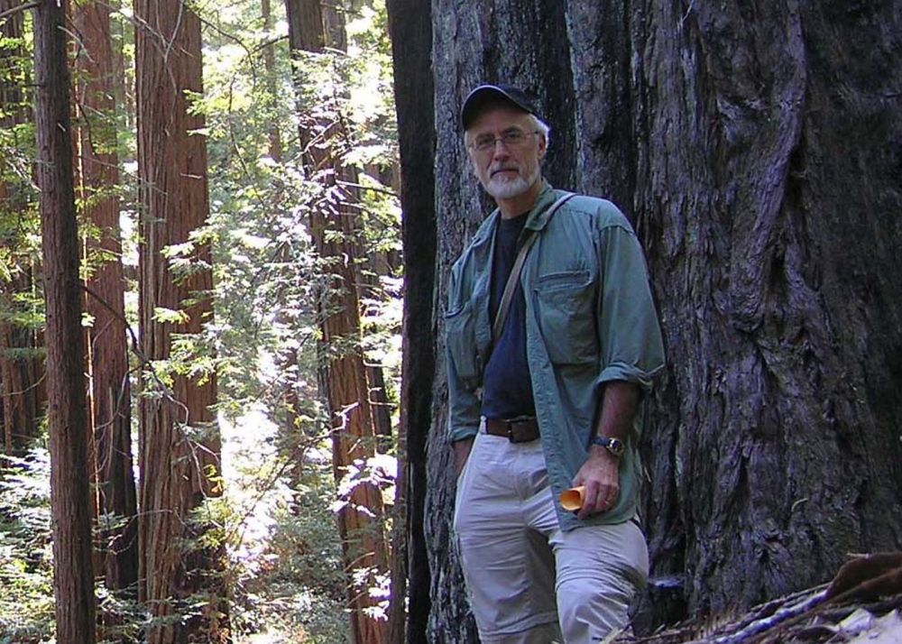STUDYING TREES: Chris Brinegar, adjunct associate professor in the University of Maine at Farmington's Division of Natural Sciences, has been awarded a Fulbright fellowship to research plant genetics in Ecuador.