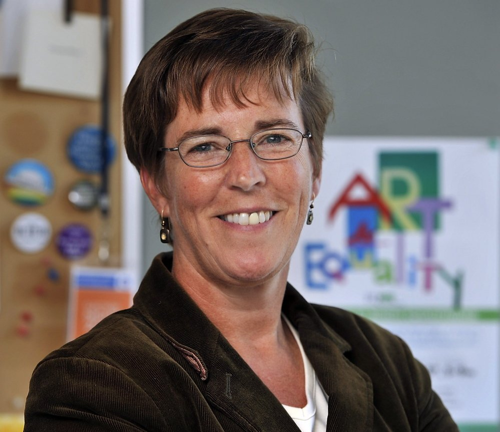 """Betsy Smith, the former director of EqualityMaine, says, """"The trajectory toward justice is that we're going to have marriage equality."""" Nineteen states now recognize gay marriage after ballot initiatives and court rulings."""