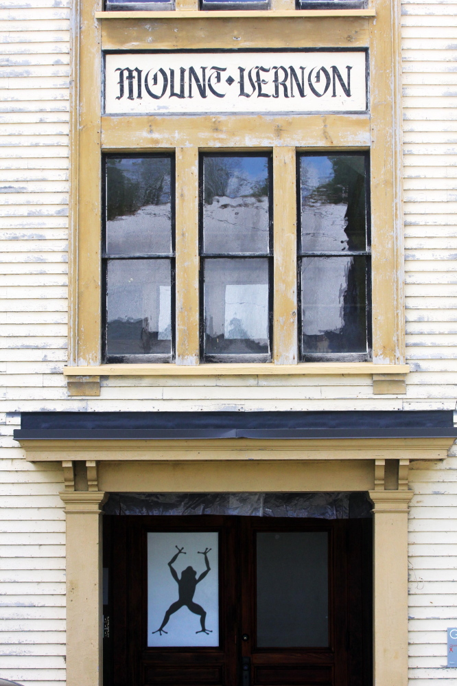 IN RESTORE MODE: Dutch woodworker Erik Groenhout has slowly been restoring the old Oddfellows Hall for use as a workshop, residence and gallery since acquiring the building in 2011.