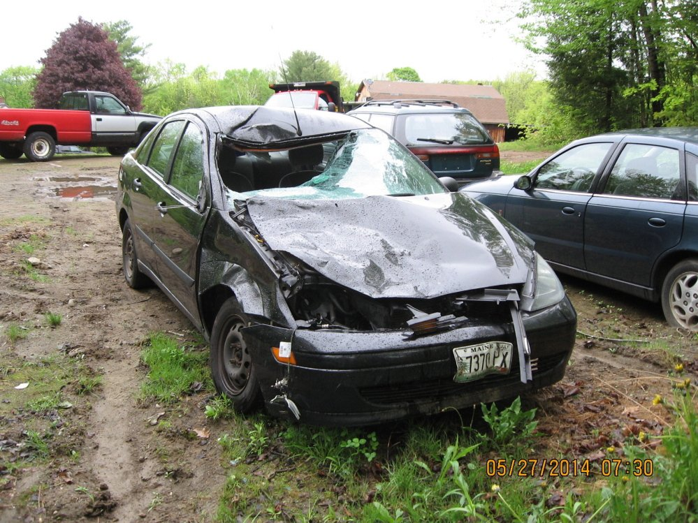 Cow crash: Three people escaped injury Saturday when a 2003 Ford Sedan struck a cow on Main Street, Route 17, in Readfield.