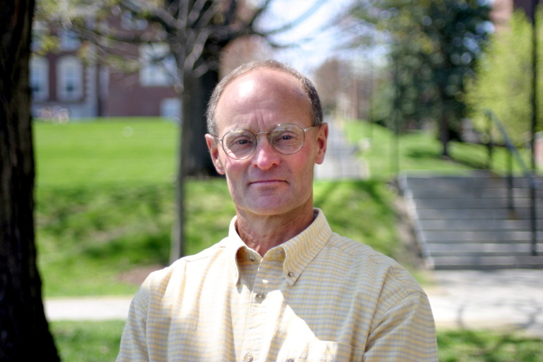 REMEMBERED: Jim Wescott in summer 2003, the year he retired from Colby College. Wescott, of Belfast, drowned in a Camden lake Tuesday