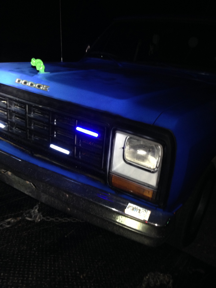 BLUE LIGHTS: Richmond Police want to hear from anyone who might have been stopped by a privately owned pickup truck with illegal blue lights in the grill.