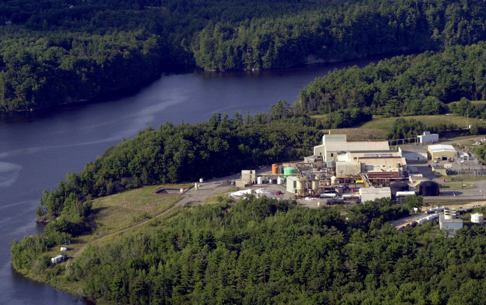 HoltraChem Manufacturing Co. of Orrington dumped mercury into the Penobscot River in the 1960s and '70s.