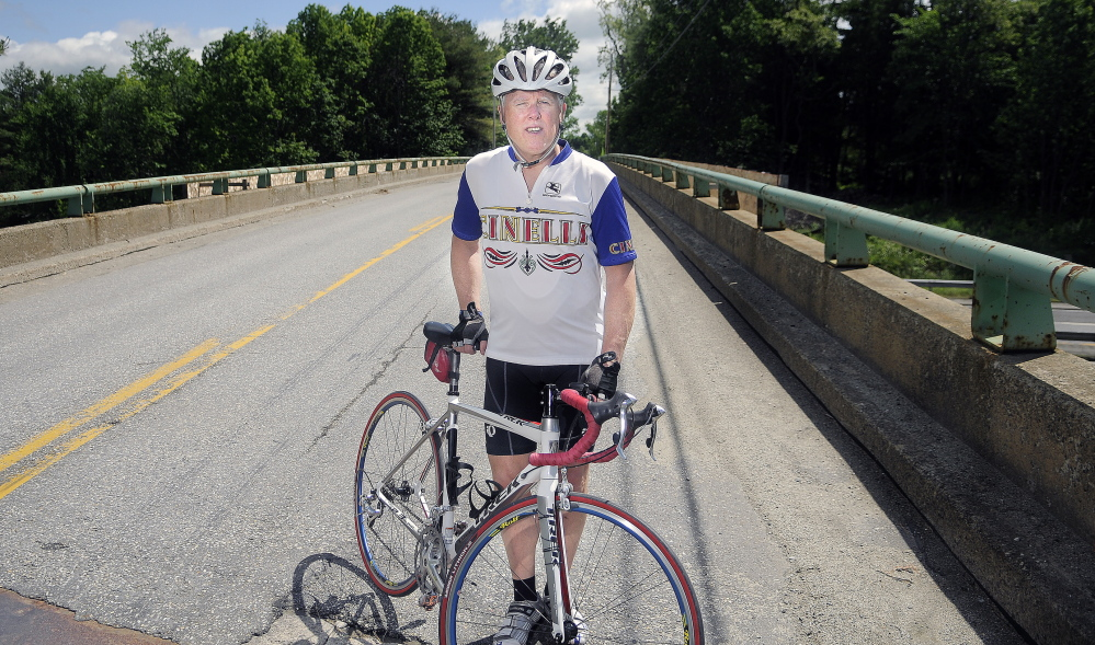 Hallowell cyclist advocates for safety during construction for Bike rides in maine