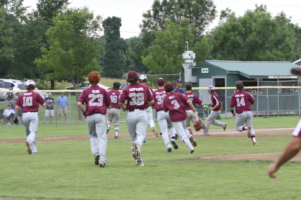 The Central Maine 15-year-old all stars defeated Auburn 2-1 on Sunday to win the state tournament and advance to the New England regional tournament. Central Maine will face Vermont on Aug. 2 in Manchester, N.H.
