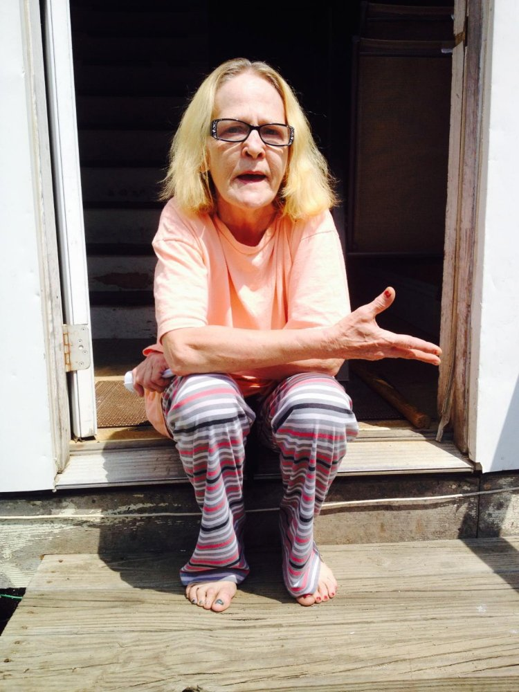 Linda Noble, the mother of suspect Zachary Larrabee who was persuaded to surrender to police after a standoff Friday, talks about her son after the incident.