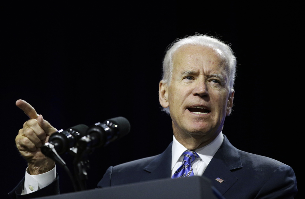 """Vice President Joe Biden: """"This is what industry should do across the board."""""""