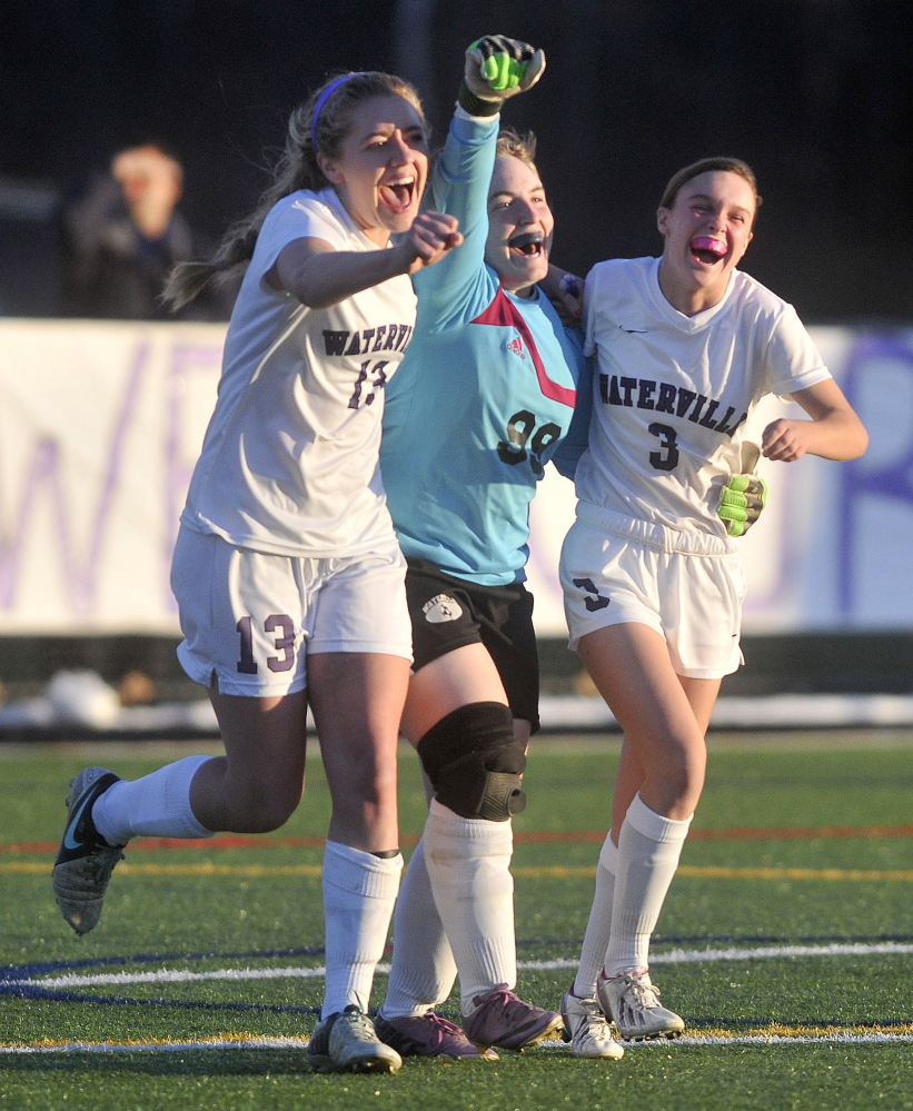 Waterville Girls Win Eastern B Title Central Maine