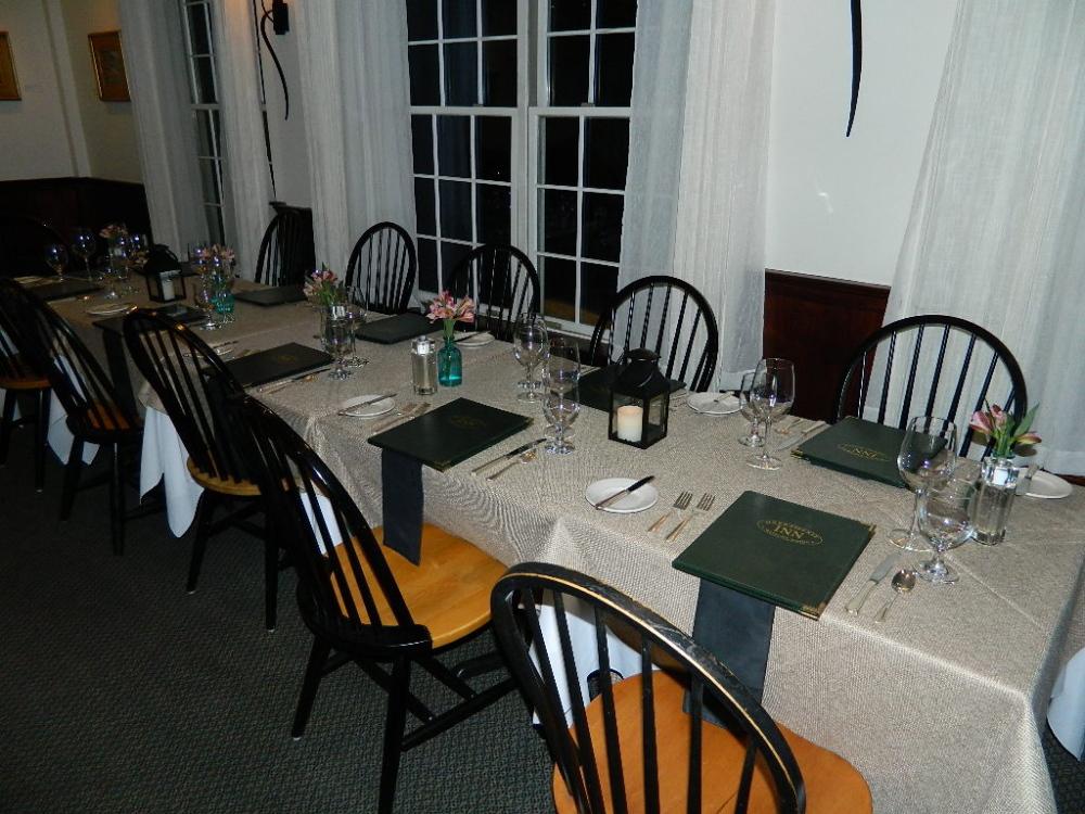 Harraseeket Inn Dining Room
