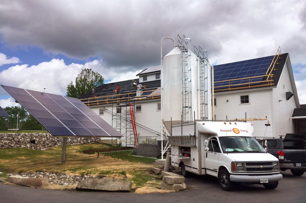 Waterville Area Targeted For Residential Solar Electric