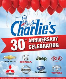 Charlie's 30th Anniversary