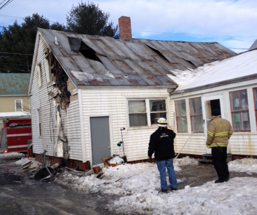 Gallery Waterville Fire Leaves Family Homeless Central