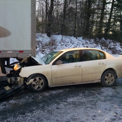 Multiple cars were involved in crashes Tuesday afternoon on U.S. Route 202.