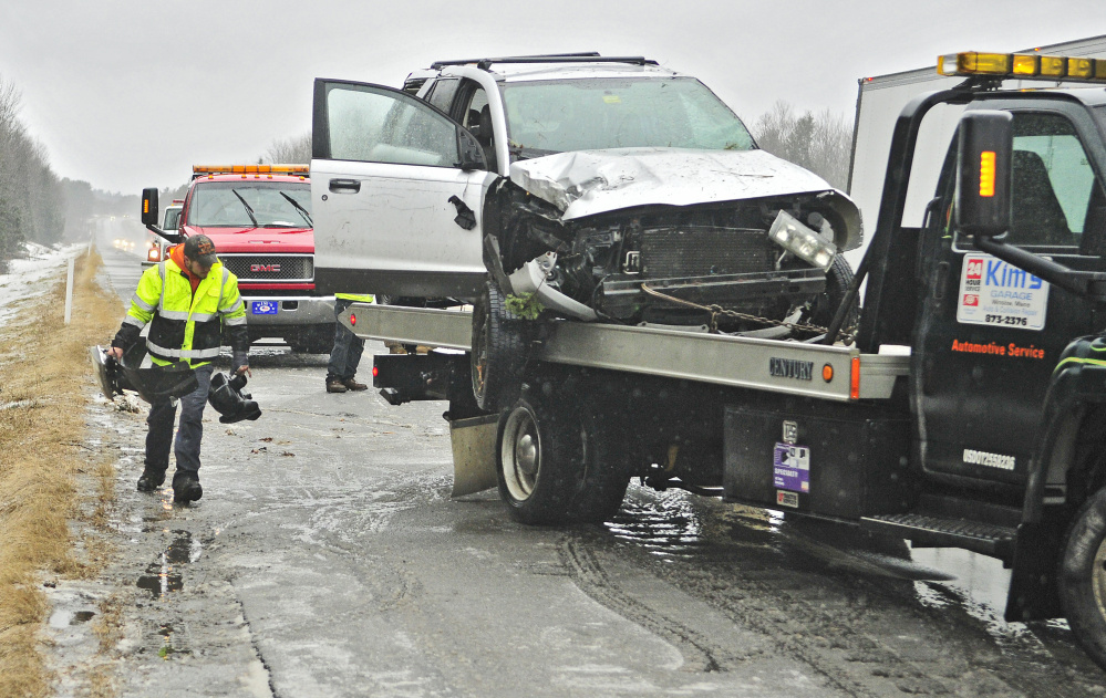 One Dies In Wilton Crash As Slick Roads Cause Crashes