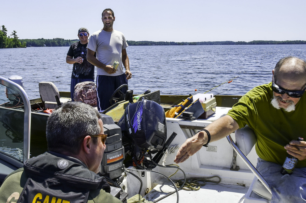 Operation dry water comes to winthrop central maine for Fishing jobs in maine