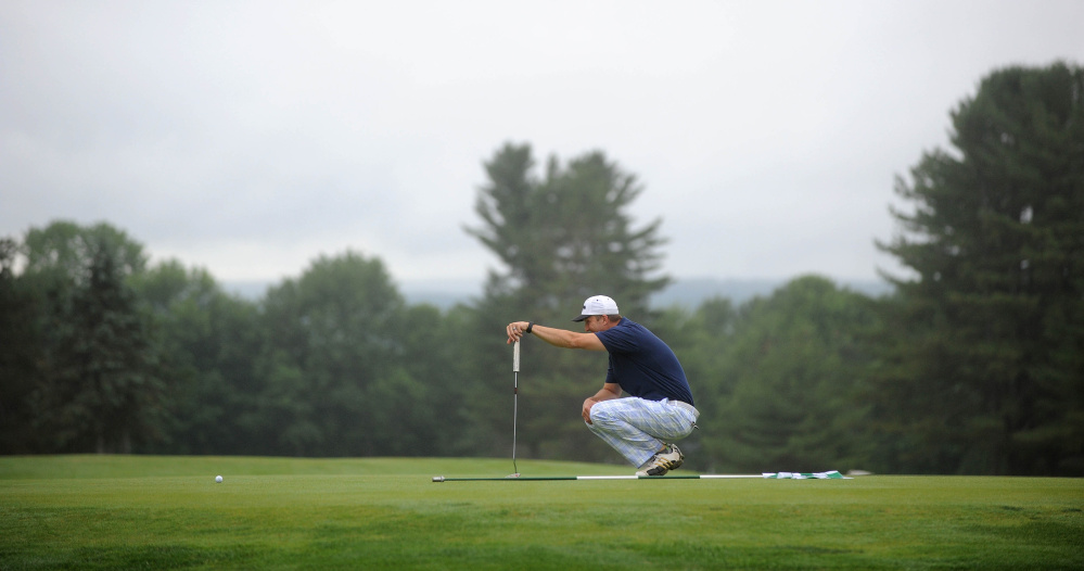 Rain Doesn T Dampen Celebration As Waterville Country Club
