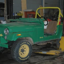 This Jeep CJ-5 was involved in the fatal crash in October 2014 at a haunted hayride in Mechanic Falls.