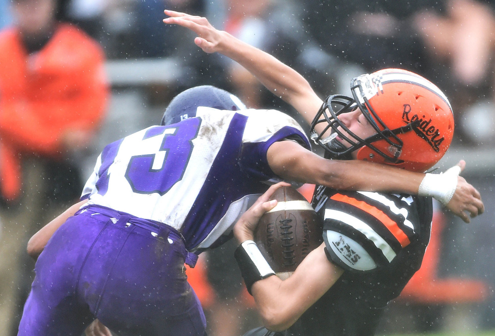 Gallery Waterville Vs Winslow Football Central Maine