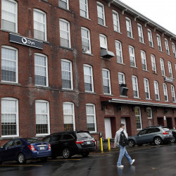 Dyn, a Manchester, New Hampshire ,internet service company, was the target Friday of what The White House described as a malicious disruption.  Associated Press/Jim Cole