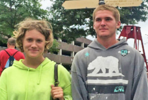 Collette Boure, of Standish, and Alexander Meyers, of Portland, are believed to be traveling  together in a gray, 2014 Toyota Corolla sedan. Photo provided by the Cumberland County Sheriff's Office