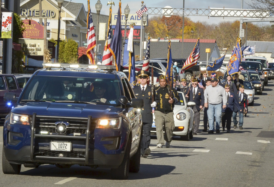 Waterville Veterans Day Parade Gallery Central Maine